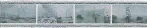 STG/B209/15016 Бордюр Ньюпорт Корабли зеленый 40х7,2х8