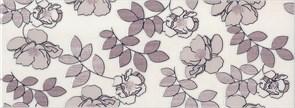 STG/C182/15010 Декор Ньюпорт Цветы фиолетовый 15х40х8