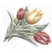 TFA013 Декор Оранжерея Тюльпаны 9,9х9,9х7