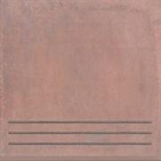 3418/GR Ступень Честер коричневый 30,2х30,2х7,8