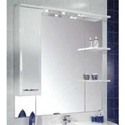 Шкаф-зеркало ЭМИЛИ 105 левый