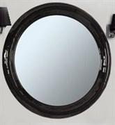 Зеркало Андорра, круглое, 750мм, черное