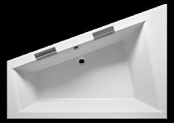 BA90 Ванна DOPPIO R 180x130/380 l