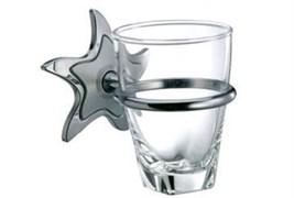 Держатель для зубных щеток и стакан Toyma Estrella