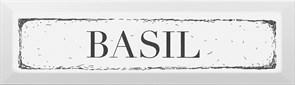 NT/B36/2882 Декор Bazil чёрный 8,5х28,5