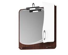 Шкаф-зеркало BELVENTO GRACE 65. Венге. Правый