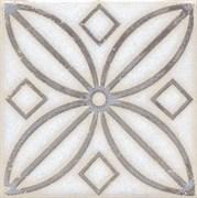 STG/A402/1266 Вставка Амальфи орнамент коричневый 9,9х9,9х7