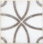 STG/A405/1266 Вставка Амальфи орнамент коричневый 9,9х9,9х7