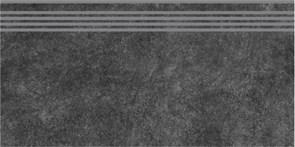 SG615000R/GR Ступень Королевская дорога черный обрезной 30х60
