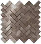 S.O. Black Agate Herringbone Mosaic / С.О. Блэк Агате Хэрринбоун Мозаика 30,5x30,5 600110000206