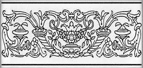 STG/C509/16006 Декор Авеллино 7,4х15х6,9
