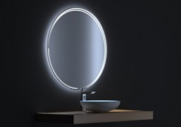 Зеркало АЛЬФА 8080 с LED подсветкой