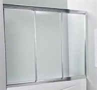 Шторка на ванну Прозрачное стекло VL3 150