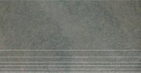 DP203800R Гималаи ступень серый обрезной30х60