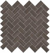 190/003 Декор Грасси коричневый мозаичный 31,5х30х11