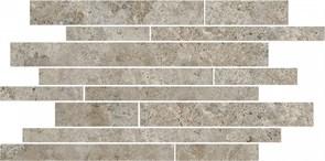 SG188/003 Бордюр Ровиго серый темный мозаичный 50,2х25х9,5