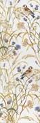 SST/A02/12105R Декор Астория Птицы белый обрезной 25х75х9