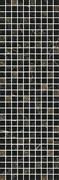 MM12111 Декор Астория черный мозаичный 25х75х9