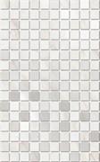 MM6359 Декор Гран Пале белый мозаичный 25х40х8