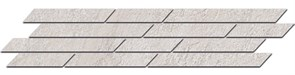 SG144/003 Бордюр Гренель серый светлый мозаичный 46,5х9,8х11