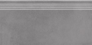 SG227500R/GR Ступень Мирабо серый обрезной 30х60х9