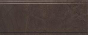 BDA008R Бордюр Версаль коричневый обрезной 30х12х13