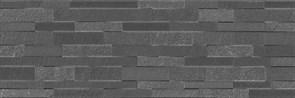 13055R Гренель серый темный структура обрезной 30х89,5х12,5