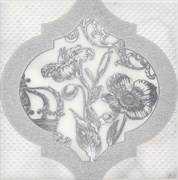 HGD/A263/17051 Декор Фрагонар белый 15х15х6,9