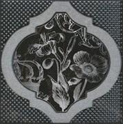 HGD/B263/17052 Декор Фрагонар чёрный 15х15х6,9
