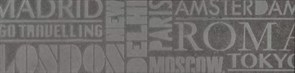 SBD013/DD3184 Декор Про Матрикс антрацит шрифты