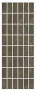 MM15139 Декор Лирия коричневый мозаичный 15х40