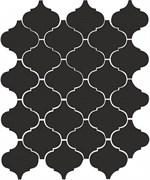 65001 Арабески глянцевый черный 26х30
