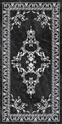 SG592702R Риальто серый тёмный декорированный лаппатированный  119,5х238,5