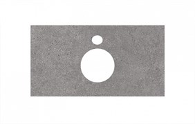 PL1.DL500900R\80 Спец. изделие для накладных раковин 80 см Фондамента серый