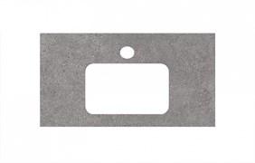 PL2.DL500900R\80 Спец. изделие для раковин, встраиваемых сверху, 80 см Фондамента серый