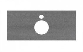 PL1.DD500600R\100 Спец. изделие для накладных раковин 100 см Про Дабл антрацит