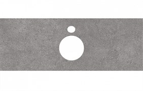 PL1.DL500900R\120 Спец. изделие для накладных раковин 120 см Фондамента серый