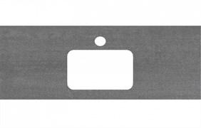 PL2.DD500600R\120 Спец. изделие для раковин, встраиваемых сверху, 120 см Про Дабл антрацит