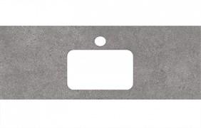 PL2.DL500900R\120 Спец. изделие для раковин, встраиваемых сверху, 120 см Фондамента серый