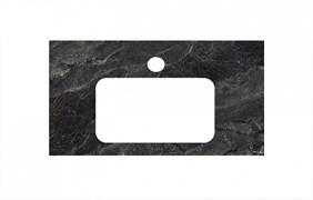 PL3.VT93\80 Спец. изделие для раковин, встраиваемых снизу, 80 см Риальто темный серый лап