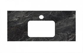 PL2.VT93\100 Спец. изделие для раковин, встраиваемых сверху,100 см Риальто темный серый лап