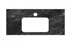 PL3.VT93\100Спец. изделие для раковин, встраиваемых снизу, 100 см Риальто темный серый лап