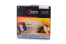 MILLICABLE FLEX 1200/15 комплект тонкого двухжильного нагревательного кабеля с алюминиевым экраном (76.4 п.м.)