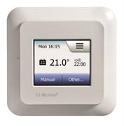 Сенсорный программируемый терморегулятор OCD5-1999 с цветным дисплеем Белый