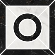 ID93 Декор Фрагонар наборный белый 9,9х9,9х11
