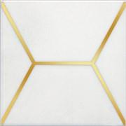 OP/A181/17063 Декор Витраж белый 15x15x6,9