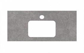 PL2.DL500900R\100 Спец. изделие для раковин, встраиваемых сверху, 100 см Фондамента серый