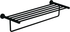 4562MB Полка для полотенец 60см Aquanet, черн.мат (241919)
