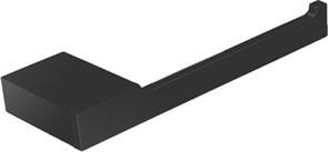 5686-1MB Держатель для туалетной бумаги открытый Aquanet, черн.мат (241907)