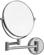 """8034 Косметическое зеркало 8""""×3 подвесное Aquanet, хром (195657)"""